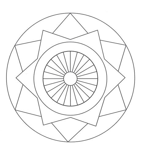coloring pages of mandala designs free printable mandalas for kids best coloring pages for