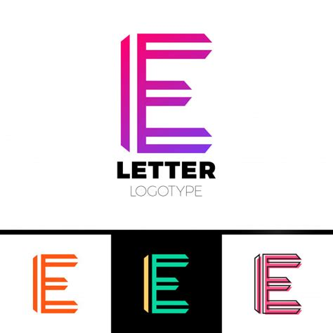 abstract letter logo design template vector symbol