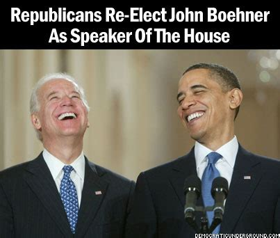 Who Votes For Speaker Of The House by Pic Of The Moment Republicans Re Elect Boehner As