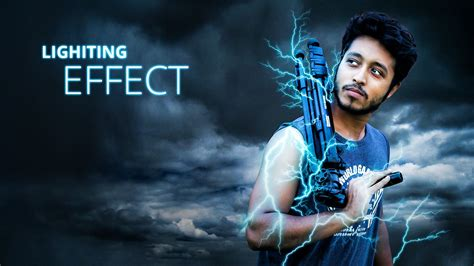 awesome lighting awesome lighting effect photo manipulation tutorial