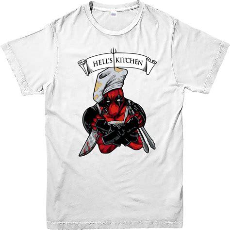 Deadpool 3 T Shirt deadpool t shirt hells kitchen spoof t shirt marvel