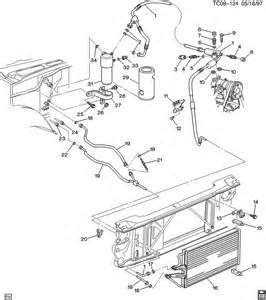 C Chevrolet Parts Chevrolet K2500 A C Refrigeration System Part 1