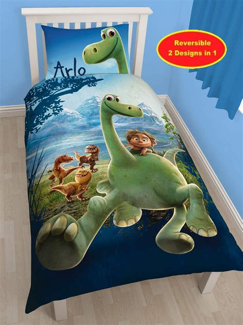 dinosaur bedroom set disney the good dinosaur arlo single duvet quilt cover
