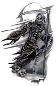 awesome grim reaper tattoo design tattoos