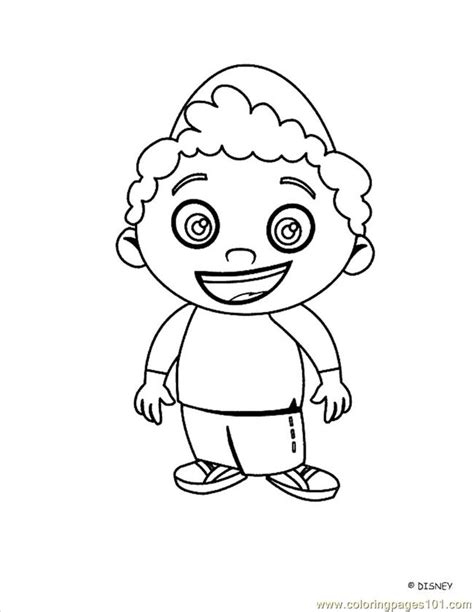 little einstein 13 coloring page free little einsteins