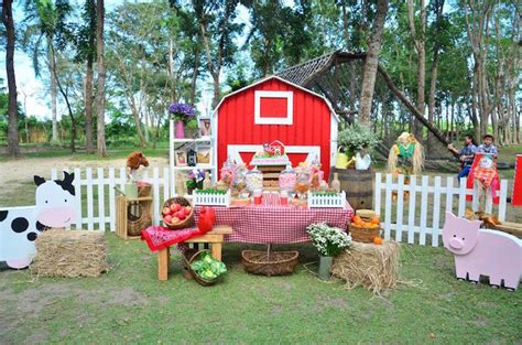 printable farm party decorations kara s party ideas chic barnyard birthday party via kara s
