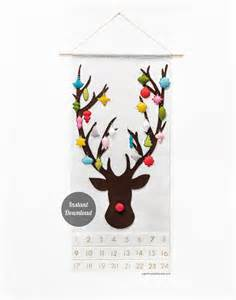 advent calendar pattern rudolph red nosed sugarhouseshop