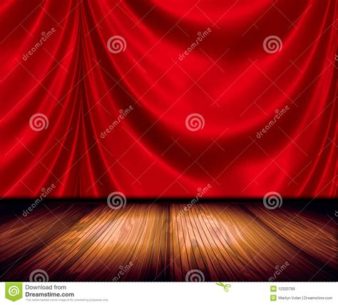 spinning crucifix crimson drapes stock drapes on stage royalty free stock images image