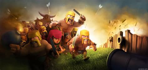 wallpaper laptop clash of clans clash of clans wallpapers best wallpapers