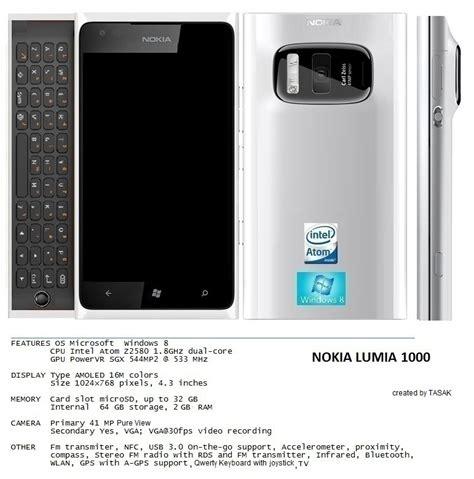 Nokia Lumia Qwerty nokia lumia 1000 concept phone pureview qwerty windows 8
