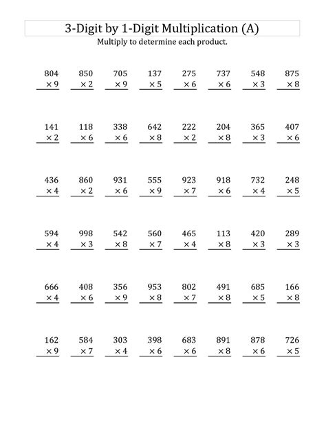 year 3 maths worksheets free and printable learning