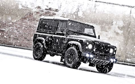 jeep snow wallpaper land rover defender jeep suv snow land rover adjustment hd
