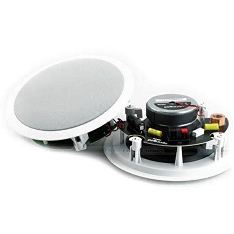 polk audio rc80i 2 way in ceiling speakers polk audio rc80i 2 way in ceiling in wall speakers pair white