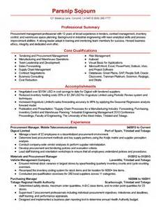 Procurement Manager Resume Sample resume sample for procurement engineer purchasing resume example