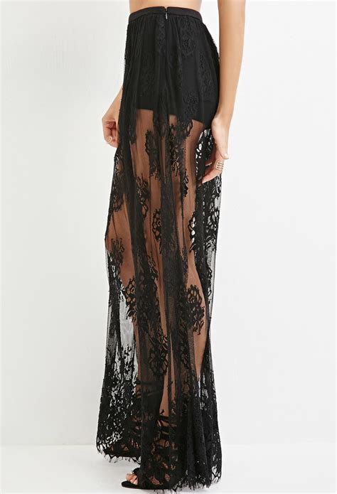best black lace maxi skirt photos 2017 blue maize