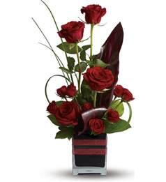 Birthday Baskets Romance Roses Tfweb611 45 86