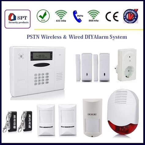 cp 11a wireless self monitoring security alarm system