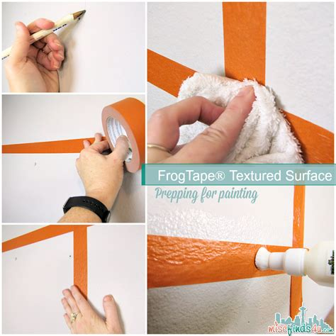 15 painting mistakes to avoid diy frogtape textured surface paint straight lines on texture