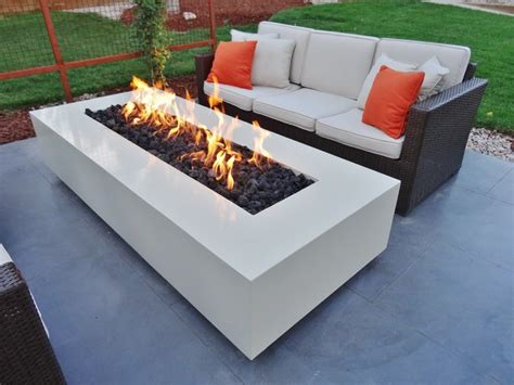 contemporary outdoor pits powder coated custom pit contemporary pits