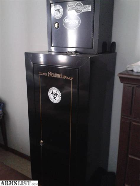 sentinel 18 gun cabinet armslist for sale sentinel gun cabinet with mounted top