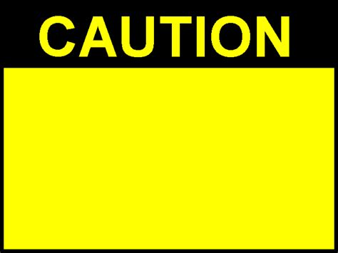 Free Caution Download Free Clip Art Free Clip Art On Clipart Library Caution Sign Template