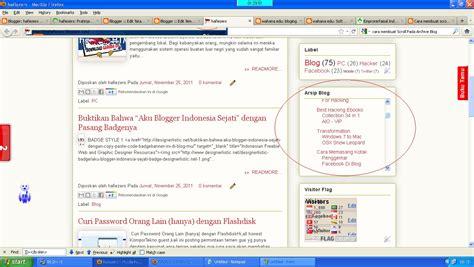 cara membuat label undangan car villa cara membuat scroll pada label blog archive atau widgets
