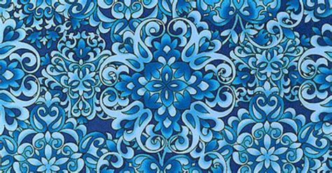 Floral Upholstery Fabrics Butterfly Carnival Garden Arabesque Sky Blue From
