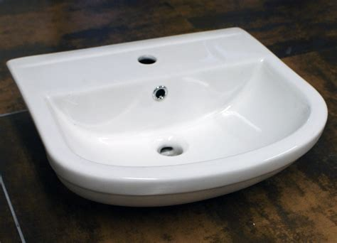 bathroom basin countertop semi recessesd basin bathroom sink semi countertop 1 tap