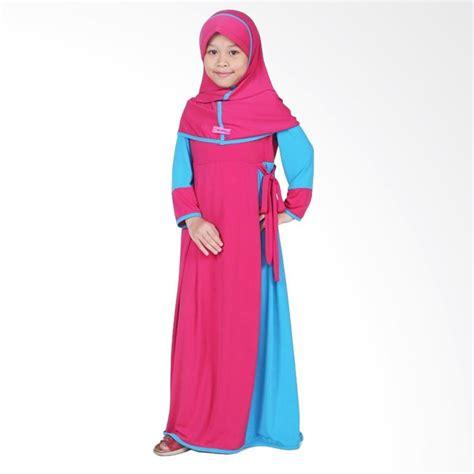 Baju Muslim Anak Perempuan Jersey Jual Bajuyuli Baju Muslim Gamis Anak Perempuan Pink