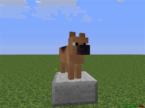 mods in minecraft dogs mod 1 6 2 copious dogs 187 майнкрафт все о minecraft