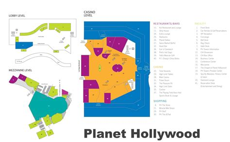planet hollywood las vegas floor plan planet hollywood las vegas map las vegas strip map