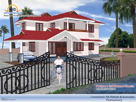 house design on design home 3d on 1600x1067 3d isometric views of small house plans kerala home design and