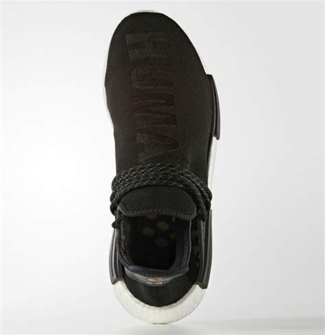 adidas human race black an official look at the pharrell x adidas nmd human race