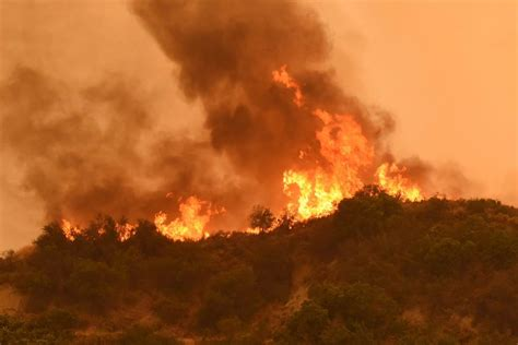 The On Socal Fires by California S Whittier Ravages Boy Scouts C Kills