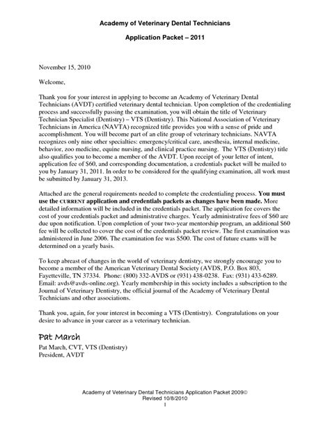 Cover Letter Examples For Veterinary Assistant