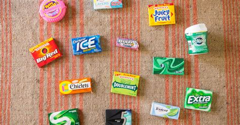 chewing gum brands which chewing gum lasts the we timed 14 brands