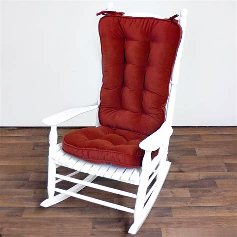 Red Outdoor Rocking Chair Cushions : Ideas of Outdoor