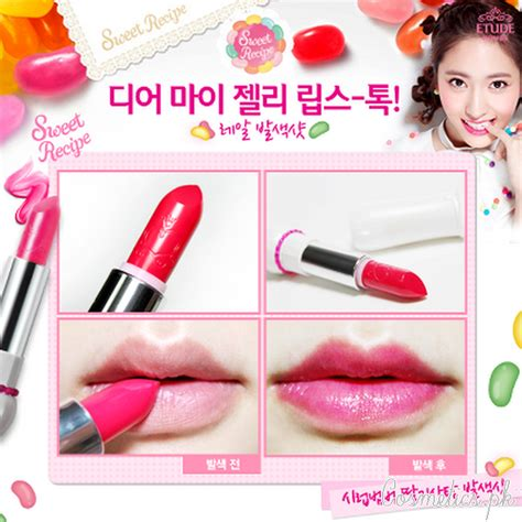 Etude House Dear My Blooming Talk Shine Pp501 Purple top 6 summer lipstick shades 2016 by etude house