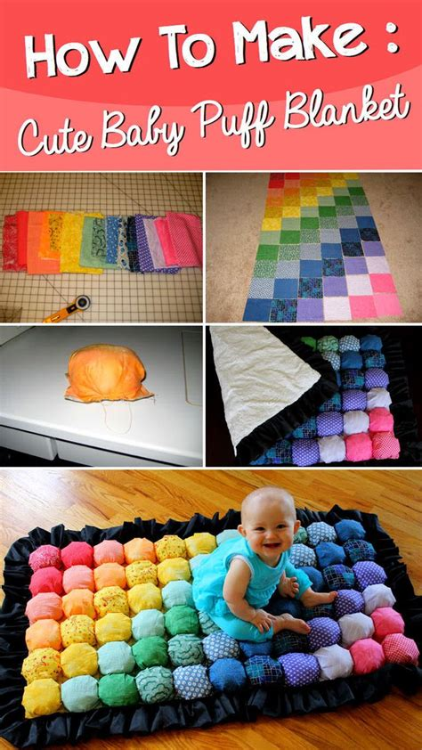 How To Make A Puff Quilt by Diy Baby Puff Blanket Birthdays Blankets And Baby Quilts