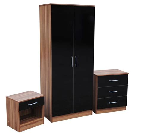 black and oak bedroom furniture helibeds same day or next day delivery of bed