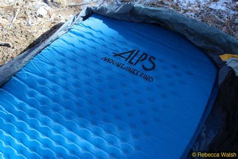 alps mountaineering ultra light air sleeping pad review alps ultra light air pad review seattle backpackers magazine