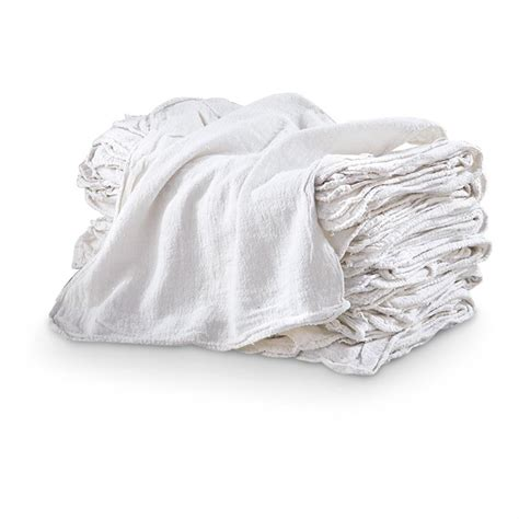 whitening shoo cloth shop towels white 60 pack 282500 garage tool accessories at sportsman s guide
