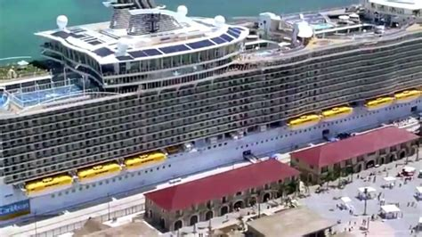 biggest boat in the world tour royal caribbean allure of the seas tour largest cruise