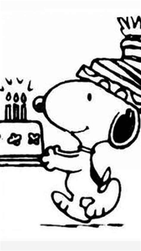 snoopy birthday coloring page snoopy birthday coloring pages timykids