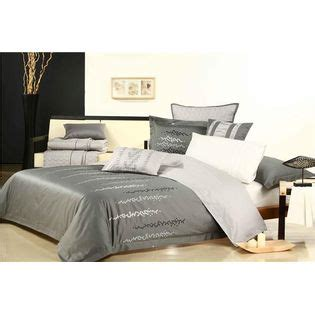 estex home fashions 100 cotton embroidered comforter set