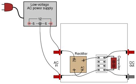 how capacitor work in dc supply lessons in electric circuits volume vi experiments chapter 5