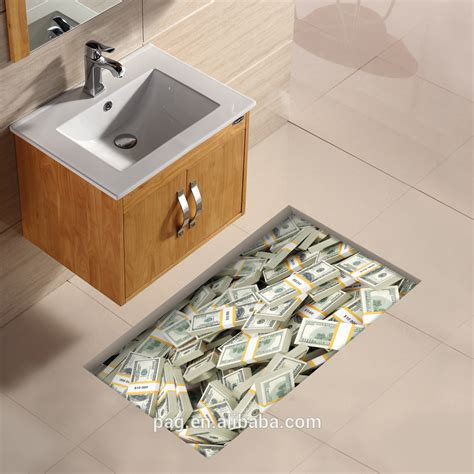 newest 3d floor stickers home decor removable for