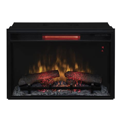 Electric Insert Fireplace Classicflame 26 In Spectrafire Plus Infrared Quartz Electric Fireplace Insert 26ii310gra