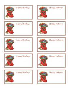 best photos of free christmas name tag templates free