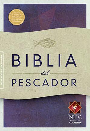 libro biblia del pescador rvr 1960 biblia del pescador evangelismo discipulado ministerio